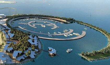 Реал Мадрид строи остров за 1 млрд. долара в ОАЕ (видео)