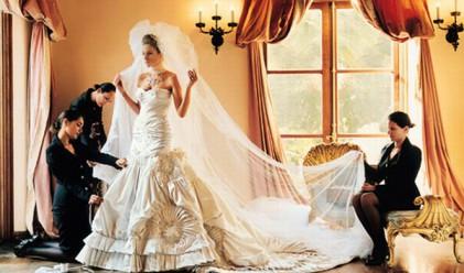 10-те най-скъпи сватбени рокли в света