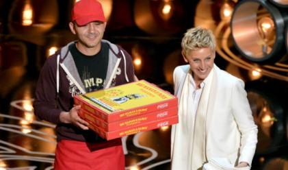1000 долара бакшиш за доставчика на пица на Оскарите
