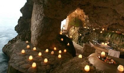Романтичен хотел-пещера в Ямайка
