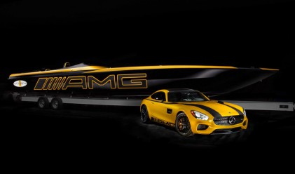 Тази вдъхновена от Mercedes моторница струва 1.2 млн. долара