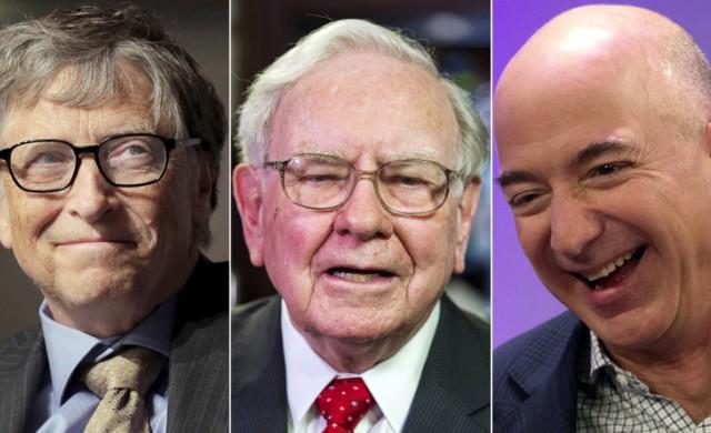 Това са 20-те най-богати хора в света