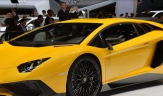 Lamborghini представи Aventador LP 750-4 Superveloce в Женева