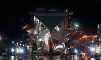 Американски самолетоносач за 13 млрд. долара ще владее моретата