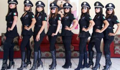 Мексико развали отряда си от секси полицаи