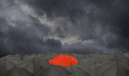 Жълт код в 17 области заради обилни валежи днес