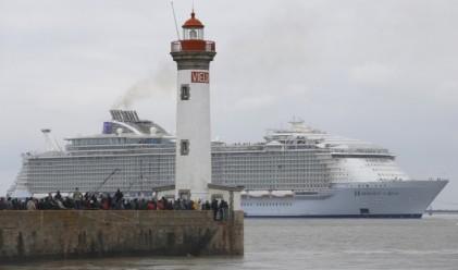 Този кораб е толкова голям, че ще ви трябва GPS