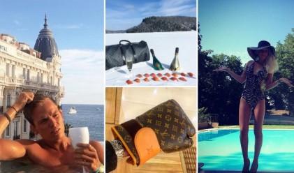 Богатите хлапета на Франция в Instagram