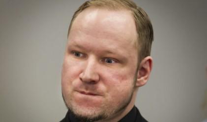 Масовият убиец Брайвик съди държава заради нарушени права