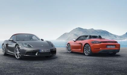Вижте трите нови модела на Porsche