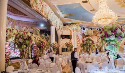 Как изглежда руска сватба за няколко милиона евро