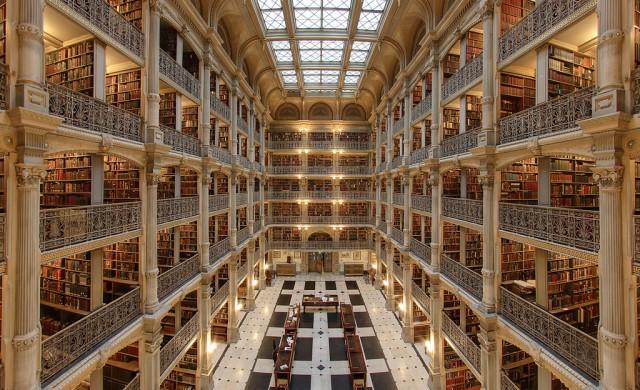 10 от най-красивите библиотеки в САЩ