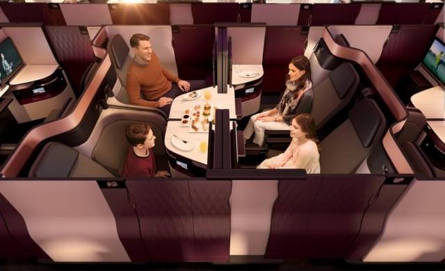 Новата бизнес класа на Qatar Airways: Лукс на ново равнище
