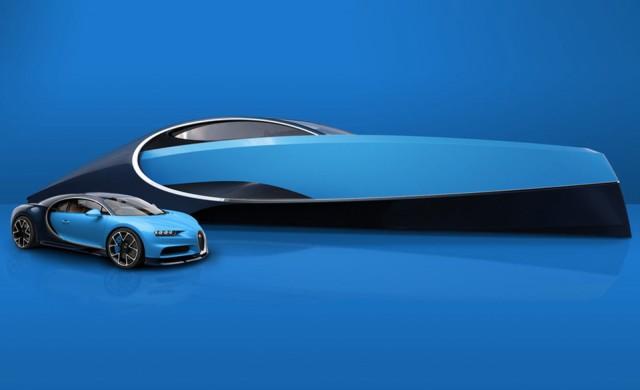 Bugatti представи яхта, посветена на Chiron
