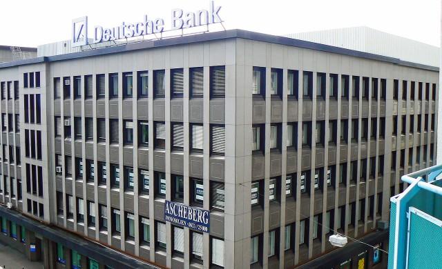 Deutsche Bank с драстично намаление на бонусите миналата година