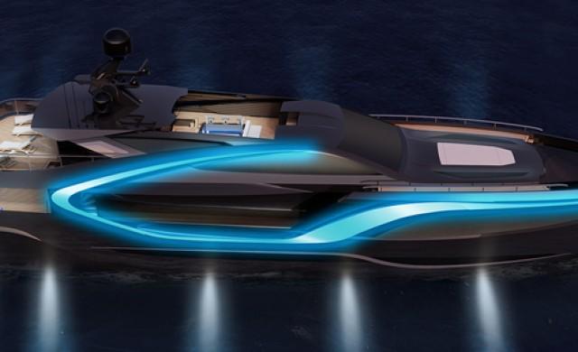 Тази 42-метрова яхта е вдъхновена от холивудски филм
