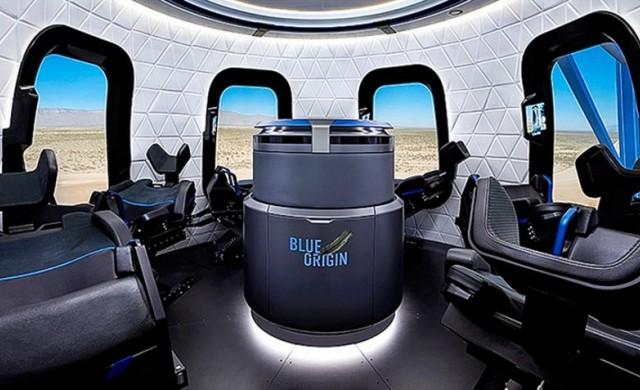 Blue Origin показа капсулата за туристи в космоса