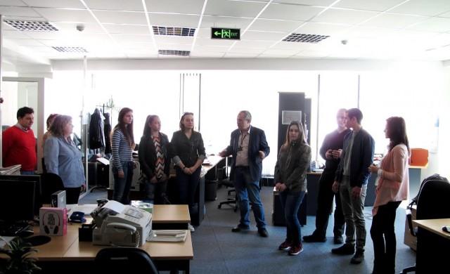 Ученици от Велико Търново бяха на посещение в КФН