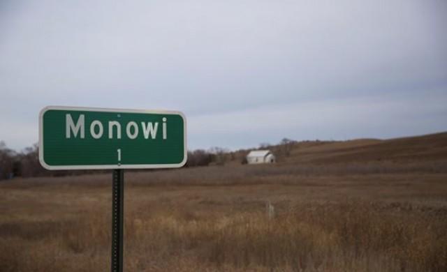 Добре дошли в най-малкия град в САЩ. Тя е единственият му жител