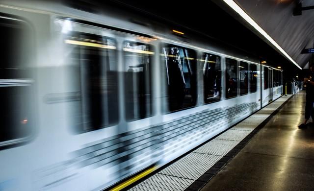Ето го първият от новите влакове за третата линия на метрото