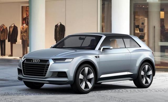 Какъв ще бъде най-малкият кросоувър на Audi