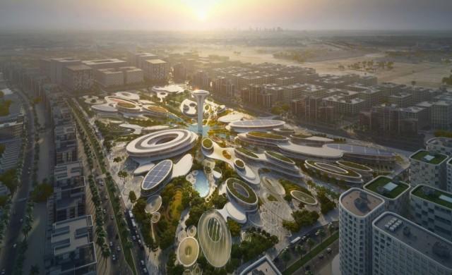 Zaha Hadid Architects спечилиха конкурс за културен хъб в ОАЕ