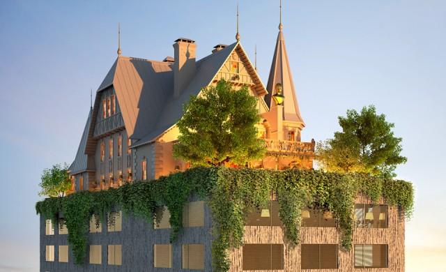 Филип Старк измисли сюрреалистичен хотел
