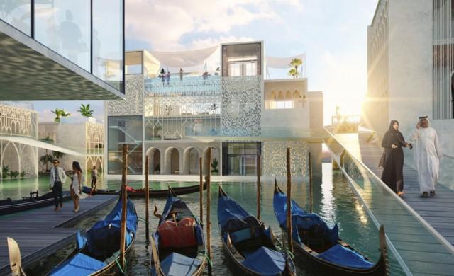 Дубай строи своя Венеция
