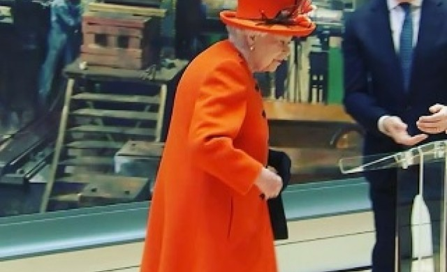 Кралица Елизабет с първи пост в Instagram
