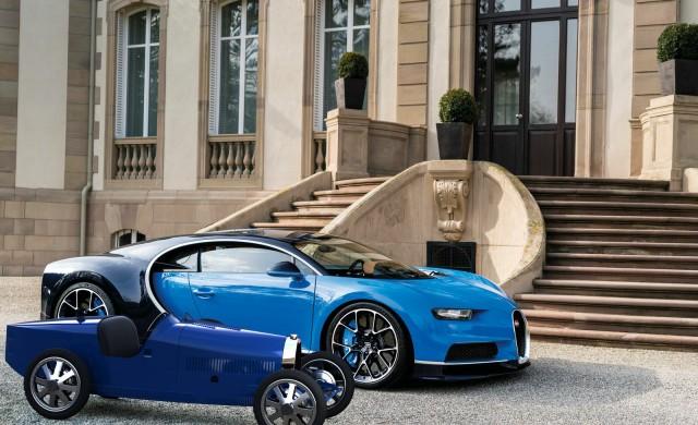Bugatti пусна детски електромобил за 30 000 евро