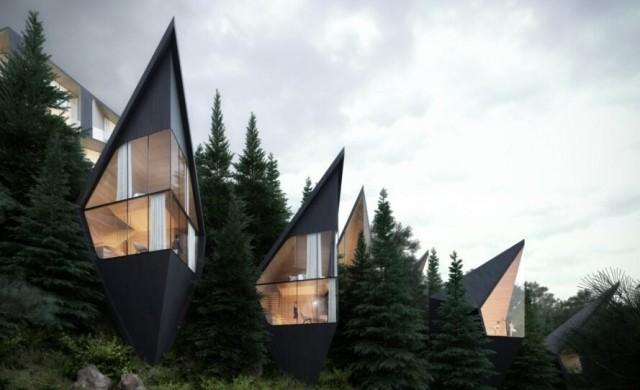 Бъдещето на туризма: Изумително красиви къщички в еко стил