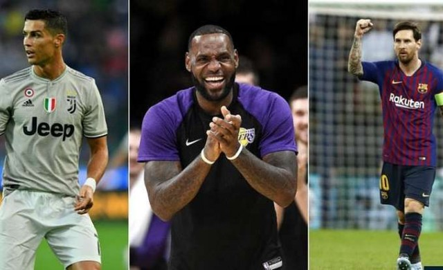 Кои са най-популярните спортисти в света?