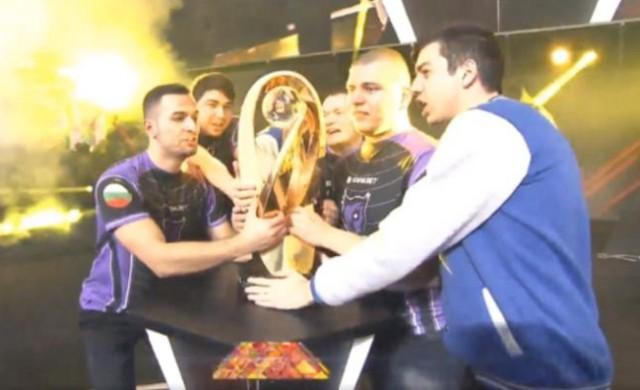 Български отбор спечели 500 хил. долара на турнир по CS:Go