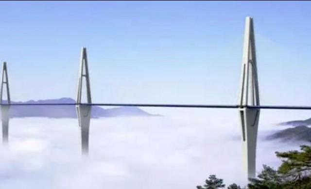 В Китай строят мост, по-висок от най-високата сграда в Европа