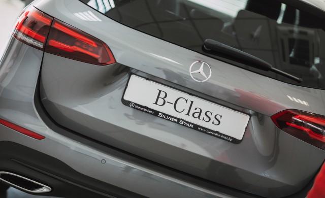 Новата B-класа на Mercedes вече е в София