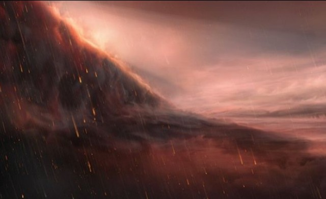 Планетата, на която валят дъждове от метал