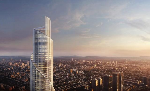 Спираловидна кула ще бъде най-високата сграда в Израел