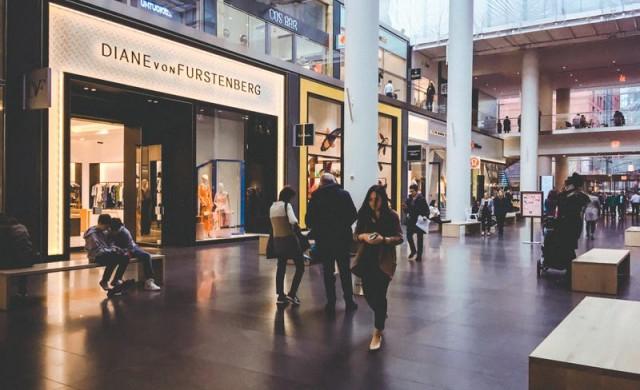 Разгледайте най-луксозния мол в Ню Йорк