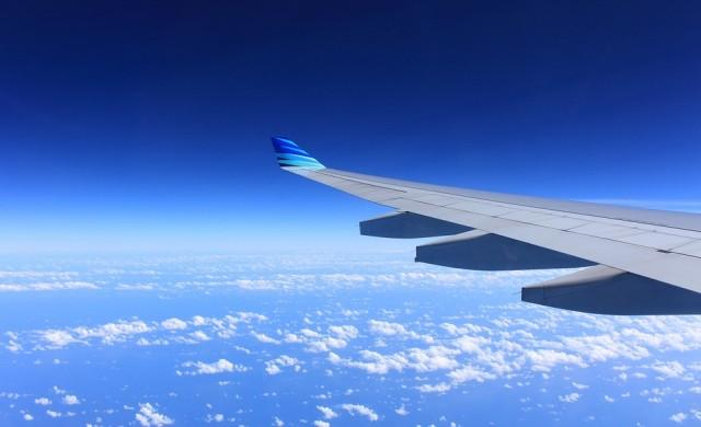 Пилот с много специфично послание, изписано в небето
