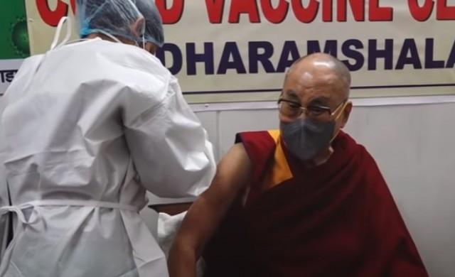 Далай Лама беше ваксиниран срещу новия коронавирус