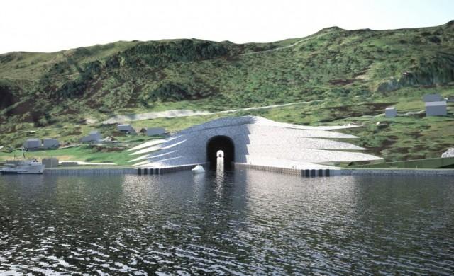 Проектът за първия тунел за кораби в света получи зелена светлина