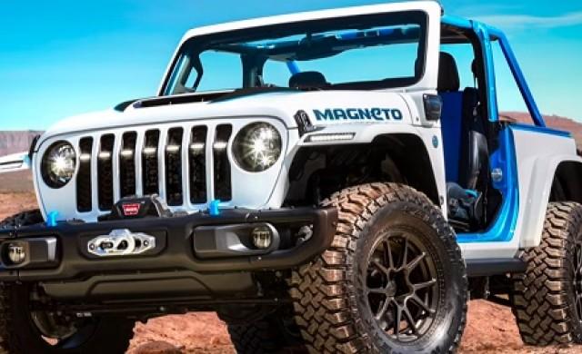 Jeep представи изцяло електрическа концептуална версия на Wrangler