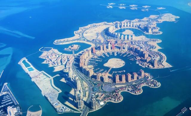 Лусаил - градът, който Катар строи за световното по футбол през 2022 г.