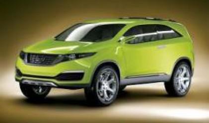 КИА показа KND-4 на автомобилно изложение в Сеул