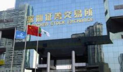 Китайският основен индекс приключи със спад от 5.5% днешната си търговия
