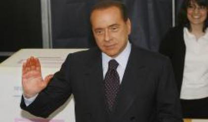 Берлускони печели парламентарните избори в Италия