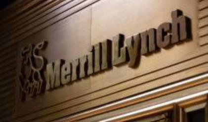 Залозите за спад на акциите на Merrill Lynch при рекордно ниво