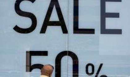 Продажбите на дребно в Европа с най-голям спад през април от четири години насам