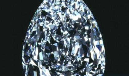 Рядък син диамант бе продаден за 6.4 млн. долара