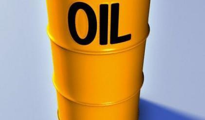 Цените на петрола с минимален спад